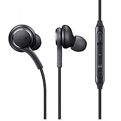 olcso -eo-ig955 füles vezetékes fejhallgató dinamikus műanyag mobiltelefon fülhallgató mikrofonnal hangerőszabályzó fejhallgatóval