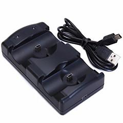 billige -PS3 Move Ledning Oplader Til Sony PS3 ,  Oplader Metal / ABS 1 pcs enhed