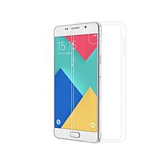 voordelige -hoesje Voor Samsung Galaxy A3(2016) Transparant Achterkant Effen Zacht TPU