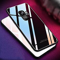 رخيصةأون -غطاء من أجل Samsung Galaxy S9 / S9 Plus / S8 Plus مرآة غطاء خلفي لون سادة قاسي زجاج مقوى