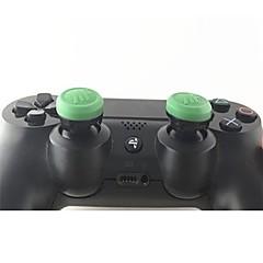 ieftine -Controlul jocului Thumb Stick Grips Pentru PS4 / PS4 Slim / PS4 Pro . Controlul jocului Thumb Stick Grips Silicon 1 pcs unitate