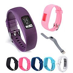 Недорогие -Ремешок для часов для Vivofit 3 Garmin Спортивный ремешок силиконовый Повязка на запястье