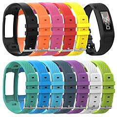 Недорогие -Ремешок для часов для Vivofit / Vivofit 2 Garmin Спортивный ремешок силиконовый Повязка на запястье
