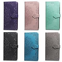 povoljno -Θήκη Za Asus Asus ZenFone Max ZC550KL / ASUS Zenfone 5Z (ZS620KL) / ASUS Zenfone 5 lite / Zenfone 5Q ZC600KL Novčanik / Utor za kartice / sa stalkom Korice Mandala Tvrdo PU koža