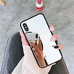 povoljno -Θήκη Za Apple iPhone XS / iPhone XR / iPhone XS Max Zrcalo Stražnja maska Jednobojni Tvrdo Opeka