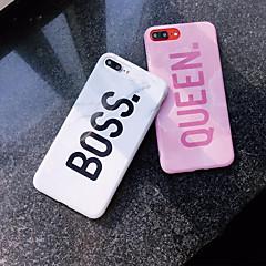 رخيصةأون -غطاء من أجل Apple iPhone XS / iPhone XR / iPhone XS Max نموذج غطاء خلفي جملة / كلمة / حجر كريم ناعم TPU
