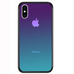 voordelige -hoesje Voor Apple iPhone 11 / iPhone 11 Pro / iPhone 11 Pro Max Schokbestendig Achterkant Kleurgradatie Hard Gehard glas