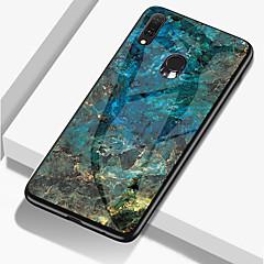 voordelige -marmer telefoon geval voor samsung galaxy a70 a50 a30 a20 a10 gehard glas pc agaat achterkant tpu zachte rand geval voor samsung galaxy a9 2018 a8 plus 2018 a8 2018 a7 2018 a6 plus 2018