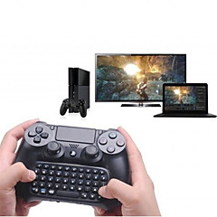 ieftine -tastatura 3.5mm plug mini wireless chatpad tastatură mesaj pentru ps4 controler negru