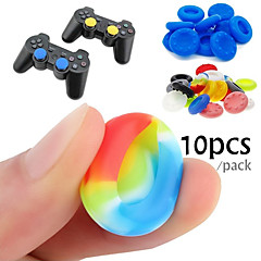 ieftine -10 cauciuc siliconic joc controler degetul mare stick-uri pentru PS4 ultra-subțire Xbox un xbox 360 wii u controler