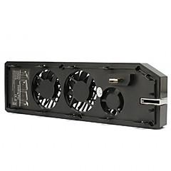 ieftine -ventilator de răcire și răcire cu răcitor de evacuare dual usb pentru microsoft / xbox unul