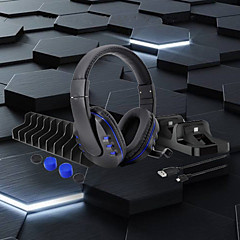 ieftine -LITBest Căști / Seturi de încărcătoare / Seturi de accesorii pentru jocuri Pentru PS4 / PS4 Slim / PS4 Pro . Căști / Seturi de încărcătoare / Seturi de accesorii pentru jocuri ABS 1 pcs unitate