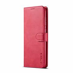 voordelige -hoesje voor Samsung Galaxy a70 (2019) a50 (2019) flip-card houder full body koffers stevig gekleurd zacht pu leer a9 (2018) a7 (2018) a10 (2019) a20 (2019) a30 (2019) a40 (2019) a8 (2018 ) a8 plus
