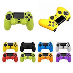 ieftine -LITBest Controler de joc Protector de caz Pentru PS4 / Sony PS4 / PS4 Slim . Controler de joc Protector de caz Silicon 1 pcs unitate