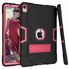 ieftine -Maska Pentru Apple iPad Air / iPad 4/3/2 / iPad (2018) Cu Stand Capac Spate Mată Greu silicagel / iPad 9.7 (2017)