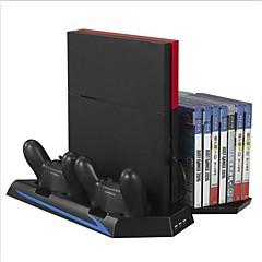 ieftine -Playstation 4 suport vertical pentru încărcător dublu încărcător PS4 kituri de încărcător dublu multifuncțional pentru ps4