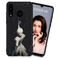povoljno -Θήκη Za Huawei Huawei P20 / Huawei P20 Pro / Huawei P20 lite Otporno na trešnju / Mutno / Uzorak Stražnja maska Seksi dama TPU