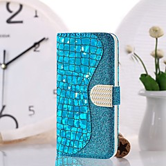 رخيصةأون -غطاء من أجل Samsung Galaxy S9 / S9 Plus / S8 Plus محفظة / حامل البطاقات / ضد الصدمات غطاء كامل للجسم درع قاسي جلد PU