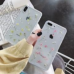 رخيصةأون -غطاء من أجل Apple iPhone XS / iPhone XR / iPhone XS Max ضد الصدمات / شفاف / نموذج غطاء خلفي زهور TPU