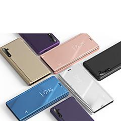 povoljno -Θήκη Za Huawei Huawei Nova 3i / Huawei Note 10 / Huawei Honor 10 sa stalkom / Zrcalo Korice Jednobojni PU koža / PC