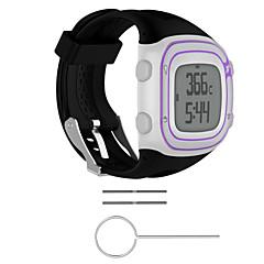 Недорогие -ремешок для часов для предтечи 15 / предтеча 10 силиконовый ремешок garmin sport band