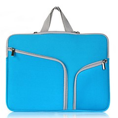 cheap -11.6 Inch Laptop / 12 Inch Laptop / 13.3 Inch Laptop Sleeve / Briefcase Handbags Polyester Solid Color Unisex Water Proof