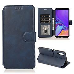 olcso -luxus bőr pénztárca flip tok Samsung Galaxy a70 a50 a40 a30 a20 a10 kártya pénztárca állvány borítója galaxis a7 2018 a9 2018 a6 plus 2018 a6 2018 esetek mágneses tartó telefon etui