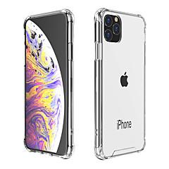 رخيصةأون -غطاء من أجل Apple اي فون 11 / iPhone 11 Pro / iPhone 11 Pro Max ضد الصدمات / ضد الغبار غطاء خلفي شفاف TPU