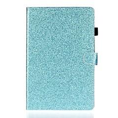 povoljno -Θήκη Za Apple iPad Air / iPad 4/3/2 / iPad (2018) Utor za kartice / sa stalkom / Uzorak Korice Jednobojni / Šljokice PU koža
