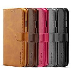 ieftine -lc.imeeke carcasă din piele pentru apple iphone 11 pro / iphone 11 pro max / iphone xs portofel / suport pentru carduri / flip carcase pline pentru corp complet piele PU colorate / tpu