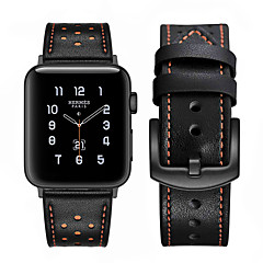 hesapli -watch band for apple watch series 5 4 3 2 1 apple deri döngü hakiki deri bilek kayışı
