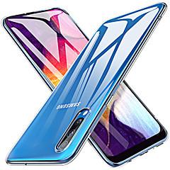 رخيصةأون -غطاء من أجل Samsung Galaxy S9 / S9 Plus / S8 Plus شفاف غطاء خلفي شفاف TPU