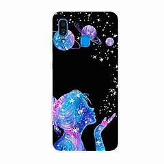 voordelige -hoesje voor Samsung Galaxy A50 (2019) / J6 Plus 2018 / S10 Plus Patroon Achterkant Wishing Star TPU voor A10 (2019) / A20 (2019) / A40 (2019) / S10 / S10 Plus / J4 Plus 2018 / Note 10 Plus