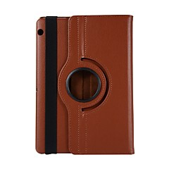 povoljno -Θήκη Za Huawei Huawei Mediapad T5 10 Rotacija za 360° / Otporno na trešnju / sa stalkom Korice Jednobojni PU koža