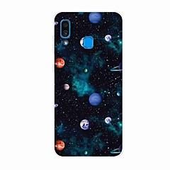 voordelige -hoesje voor Samsung Galaxy A50 (2019) / J6 Plus 2018 / S10 Plus Patroon Achterkant Planet TPU voor A10 (2019) / A20 (2019) / A40 (2019) / S10 / S10 Plus / J4 Plus 2018 / Note 10 Plus