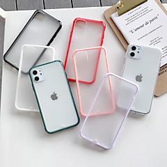 ieftine -Maska Pentru Apple iPhone 11 / iPhone 11 Pro / iPhone 11 Pro Max Mătuit / Transparent Capac Spate Mată Teracotă