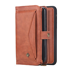 povoljno -multifunkcionalna torba od prave kože u obliku trostrukog novčanika za iphone 11 pro max xr xs max 8 plus 7 plus 6 plus zaštitne navlake u boji u boji