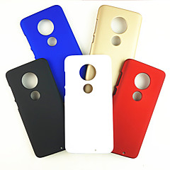 povoljno -Θήκη Za Motorola MOTO G6 / Moto G6 Plus / Moto G7 Otporno na trešnju Stražnja maska Jednobojni PC