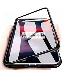 povoljno -futrola za jedan plus 7t pro / jedan plus 7 pro / jedan plus 6t otporan na prašinu / ogledalo / ultra tanki koferi za cijelo tijelo prozirno kaljeno staklo / metalni metalni kućište
