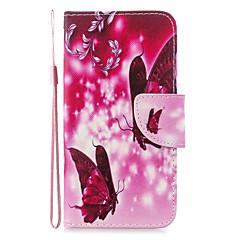 povoljno -Θήκη Za Huawei Huawei P30 / Huawei P30 Pro / Huawei P30 Lite Novčanik / Utor za kartice / Otporno na trešnju Korice Mačka / Rukav leptir / Cvijet PU koža