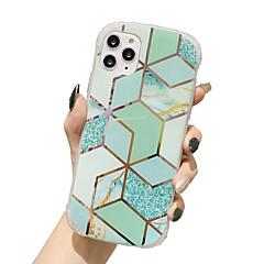 povoljno -etui za jabučnu kartu scena iphone 11 x xs xr xs max 8 galvanizirani romb šareni mramorni uzorak četiri ugla kućište za mobitel protiv pada