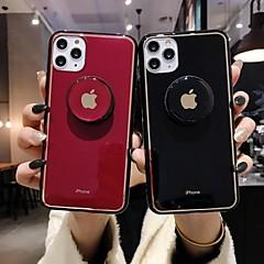 povoljno -Θήκη Za Apple iPhone 11 / iPhone 11 Pro / iPhone 11 Pro Max sa stalkom / Ultra tanko / Uzorak Stražnja maska Jednobojni TPU