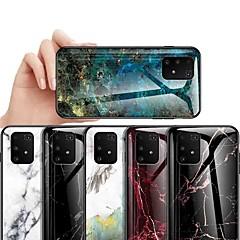 povoljno -Θήκη Za Samsung Galaxy S9 / S9 Plus / S8 Plus Otporno na trešnju / Protiv prašine / Ultra tanko Stražnja maska Mramor Kaljeno staklo