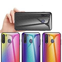 povoljno -Θήκη Za Samsung Galaxy S9 / S9 Plus / S8 Plus Otporno na trešnju / Protiv prašine / Ultra tanko Stražnja maska Prijelaz boje Carbon Fiber