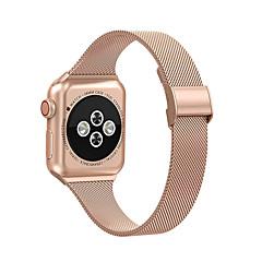 Недорогие -миланский ремешок для яблочных часов iwatch 5 ремешок 42 / 44мм 38 / 40мм ремешок из нержавеющей