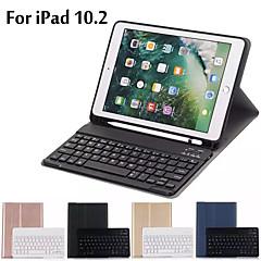 ieftine -carcasa pentru ipad 10.2 husa ultra subtire detasabila husa pentru tastatura bluetooth pentru iPad 7a generatie