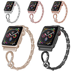 hesapli -Watch Band için Apple Watch Serisi 5 / Apple Watch Series 4/3/2/1 Apple Klasik Toka Paslanmaz Çelik Bilek Askısı