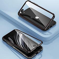 ieftine -carcasă magnetică pentru apple iphone 11 pro 360 protecție sticlă dublă carcasă protecție magnet magnet adsorbție cu aparat de fotografiat protector pentru iphone 11 promax se2020 xsmax xs xr x iphone