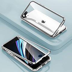 ieftine -confidențialitate carcasă magnetică anti-peep pentru iphone se2020 11 11pro 11 promax x xs xr xs max 8plus 8 7plus 7 adsorbție magnetică dublă față 360 capac metalic de protecție anti carcasă din stic