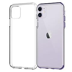 ieftine -husa pentru iphone 11pro max transparent moale TPU telefon caz xs max xr rezistent la șocuri și anti-drop 6 7 8plus se 2020 capac